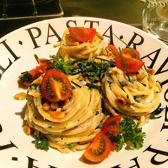 Romige pasta gorgonzola
