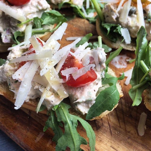 Heerlijk broodje tonijnsalade
