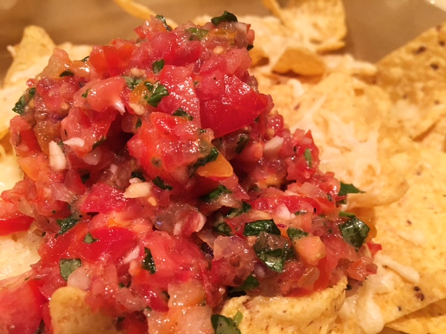Nacho's met tomatensalsa