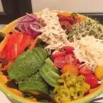 Kleuren salade