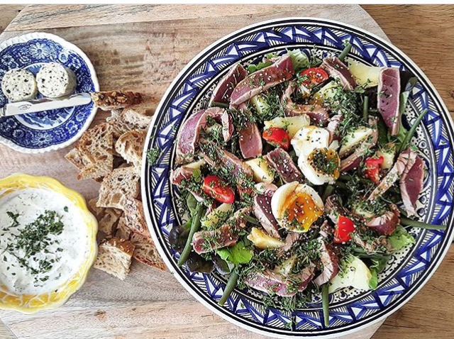 Fancy salade Nicoise